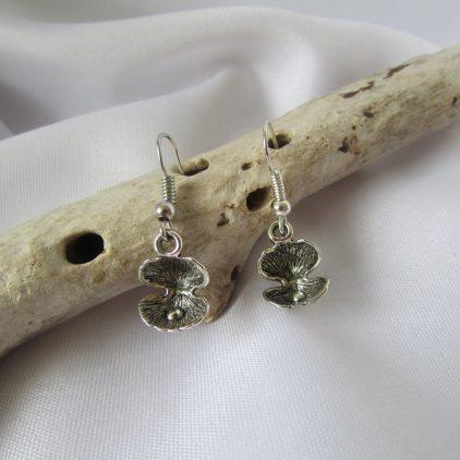 Pearl in Oyster Shell Earrings